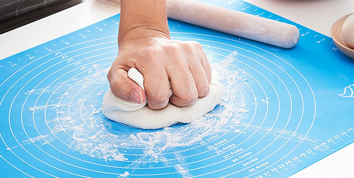 Silicone Pastry Mat Επιφάνεια για ζύμωμα για τον πάγκο ή το τραπέζι σας