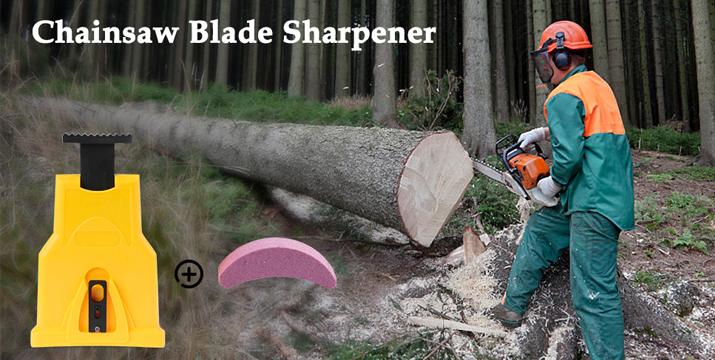 chainsaw Sharpener,EYBS Portable Chain Saw Blade Teeth Sharpener Work Sharp Fast-Sharpening Stone Grinder Tools Suitable for 14/16/18/20 Inch One/Two Holes - Γρήγορο και Φορητό Ακόνισμα Αλυσίδας Αλυσοπρίονου - chainsaw blade sharpener cyprus